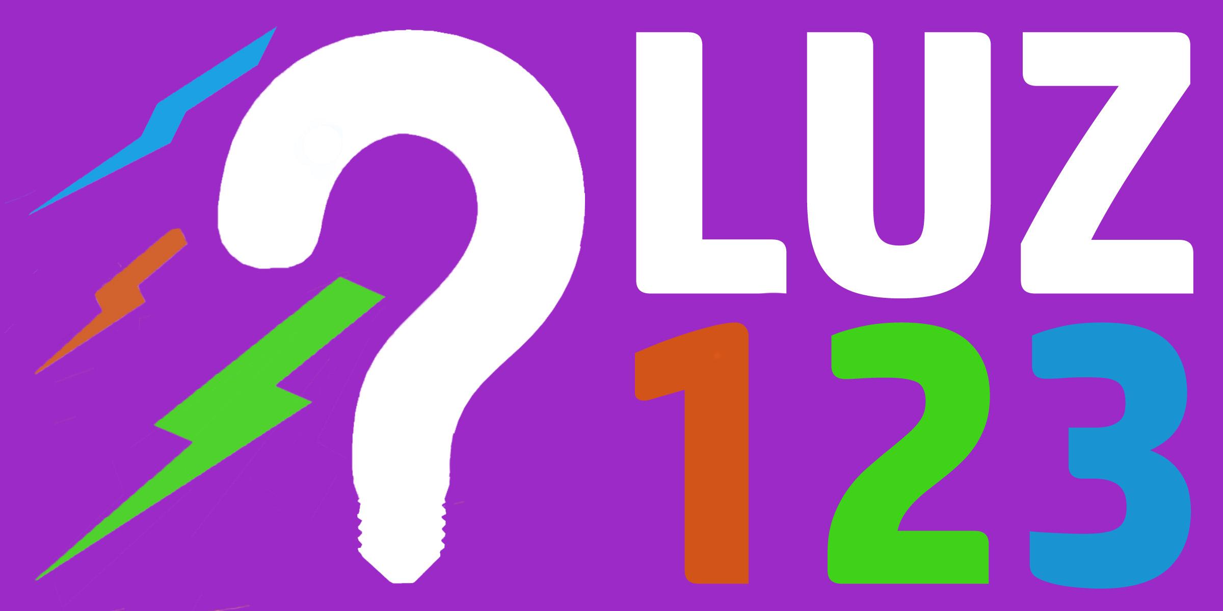 LUZ123 Logo